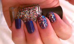 I Know What Boys Like/Happy Birthday by Deborah Lippmann #nails