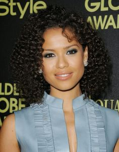 Gugu Mbatha-Raw: Photos: Gugu Mbatha-Raw arrives for The HFPA And InStyle Celebrate The 2015 Golden Globe Award Season Love Your Hair, My Hair, Beautiful Black Women, Beautiful People, Mbatha Raw, Curly Hair Styles, Natural Hair Styles, Biracial Hair, Mixed Hair