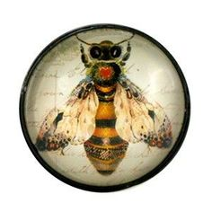 Bee Glass Knob