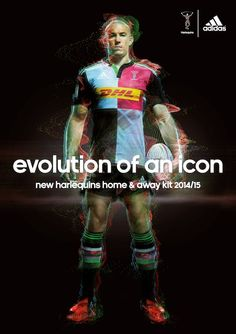 HAMISH BROWN Photographer ADIDAS Hamish worked with Chris Robshaw and the team to create the images for the launch of the new Harlequins rugby kit designed by Adidas : Evolution of an Icon. MORE FROM...