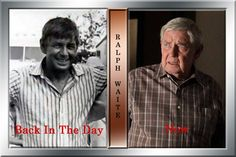 Ralph Waite ~ John Walton ~~ Born: June 22, 1928   White Plains, NY ~~ Died: February 13, 2014, Palm Desert, CA
