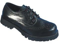 Boots & Braces Boots & Braces 3-Loch, Budapester, schwarz  #bootsandbraces #halbschuhe #budapester / mehr Infos auf: www.Guntia-Militaria-Shop.de
