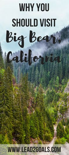 Big Bear, California is the perfect place to visit, any time of year! Between skiing and snowboarding in the winter, and wake boarding and hiking in the summer, it's the perfect place to vacation in California!
