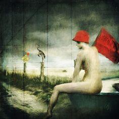 Waiting for the Rain Rain Art, Waiting, My Arts, Concept, Cat, Amazing, Creative, Artist, Artwork