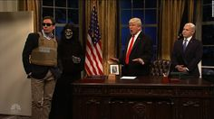"""Host Jimmy Fallon takes on the role of President Trump's son-in-law and top adviser Jared Kushner on """"SNL."""""""