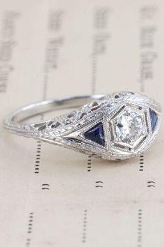 https://www.bkgjewelry.com/ruby-rings/99-18k-white-gold-diamond-solitaire-ruby-ring.html 50 Engagement Rings To Love Forever  #refinery29  http://www.refinery29.com/best-engagement-rings#slide29