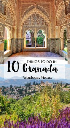 Granada Spain is a charming Andalusian town known for the impressive Alhambra palace, orange-filled streets and tapas. Keep reading for the best things to do in Granada Spain. 10 amazing things to do in Granada Spain - besides the Alhambra Nerja Spain, Andalucia Spain, Santander Spain, Ibiza Spain, Malaga Spain, Spain Honeymoon, Vacation In Spain, Wallpaper Collage, Andalusia