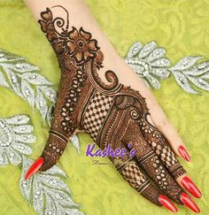 20 new Pakistani bridal Mehndi designs: Dulhan mehandi design