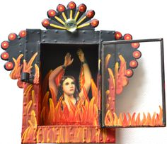 Nichos - kitsch Mexican altar boxes ©Mexico Import Arts Australia
