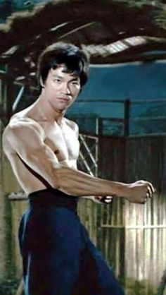 Bruce Lee from The Chinese Connection in The US ( AKA Fist Of Fury ).