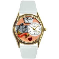 Nurse Orange Watch Small Gold Style
