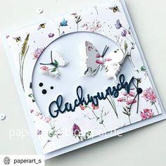 Schmettis zum Glücklichsein #Repost @paperart_s• • • • •WERBUNG #blumenwiese #glückwunsch #creativedepot #dt #schmetterlinge#wirsindcreativedepot #stanze #stempeln