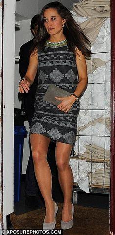 Pippa Middleton at Matthew Williamson pre fall show