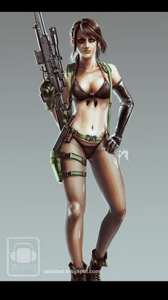 Quiet - Metal Gear Solid V - Zeablast.deviantart.com