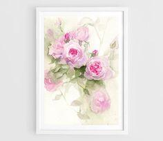 Aquarelle originalebouquet de fleurfleur par CynthiaArtBoutique