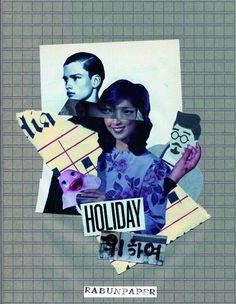 Dailycollage 25.Friday night / 26 Feb, 16 #papercollage #collage #rabunpaper #collageart #mailart #라분의페이퍼  #vintage #artwork #handmade #콜라주