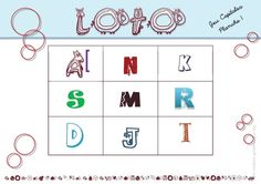 jeu de loto alphabet