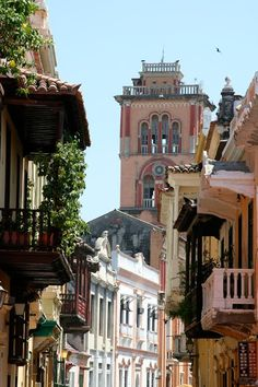 Visiting the historic district of Cartagena, Colombia