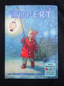 Rupert Bear Annual 1960, illustrations by Alfred Bestall