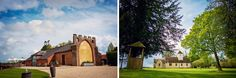 Cat and Dan's beautiful #wedding at Wasing Park.  This beautiful barn #wedding venue with castle like features is licensed for #ceremonies and also has a pretty Parish church onsite. https://twitter.com/CHWV