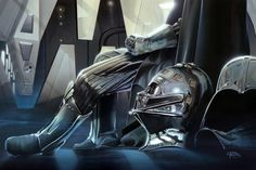 Who can ever get enough of Star Wars? there is so much creative and cool Star Wars stuff out there! Vader Star Wars, Star Trek, Darth Vader, Saga, Stormtrooper, Star Wars Facts, Star Wars Wallpaper, The Empire Strikes Back, Anakin Skywalker