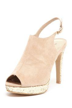 sling back heel...want