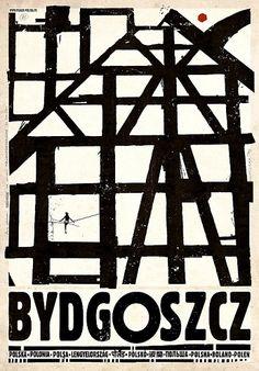 BydgoszczZobacz też inne plakaty z serii PLAKAT-POLSKA Oryginalny polski plakatautor plakatu: Ryszard Kaja  data druku: 2016 wymiary plakatu: B1, 68x98cm