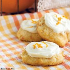 10 All-Time Favorite Cookie Recipes: Iced Carrot Cookies - Gooseberry Patch......my all-time favorite!