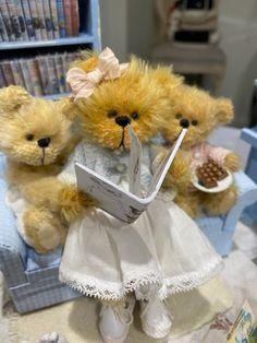 Australian Artists, Storytelling, Bears, Adoption, Teddy Bear, Toys, Miniature, Handmade, Friends