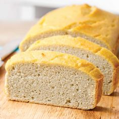 The Best Paleo Coconut Bread (High in MCT and Low Carb) - Paleo Grubs Coconut Bread Recipe, Coconut Flour Bread, Coconut Flour Recipes, Paleo Recipes, Bread Recipes, Baking Recipes, Paleo Bread Recipe With Yeast, Health Recipes, Low Carb Recipes