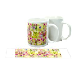 Sublimation mugs are the perfect item for personalised gifts, promotions, corporate clients, etc. Undoubtedly, white mugs are the most popular and best-selling mug worldwide. Personalised Mugs, Personalized Gifts, Photo Mug Printing, Sublimation Mugs, Photo Mugs, Tableware, Prints, Dinnerware, Personalised Gifts