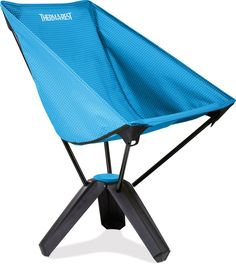 Big chair comfort in an exceptionally small package, the Treo packs entirely into its own tripod base and can support up to 113kg (250 lbs)