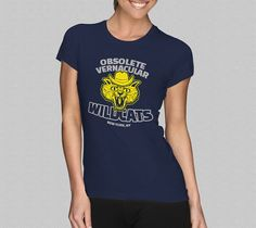 Obsolete Vernacular Wildcats TShirt Girls Eli Cash by Yipptee #wesanderson #royaltenenbaums