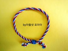 십자수실로 실팔찌 만드는법 쿠미히모 만들기 : 네이버 블로그 Knots, Personalized Items, Bracelets, How To Make, Jewelry, Fashion, Bangles, We, Jewellery Making