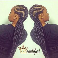Cute goddess braid
