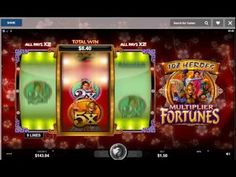 Cops and robbers gold fruit machine