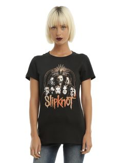 Slipknot Triangle Group Girls T-Shirt | Hot Topic