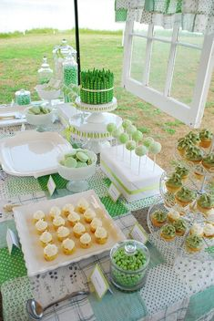 ...green themed party