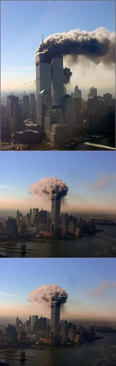 WTC 9-11-01 Pictures - Taken by a Russian commercial airline pilot