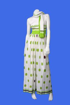 Great Lanvin Clover Dress by TresorDeVintage on Etsy, $450.00
