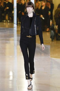 Anthony Vaccarello Spring 2016 Ready-to-Wear Fashion Show - Edie Campbell (Viva)