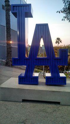 Go Dodgers! #dodgers #LA #LosAngeles #BigBlue