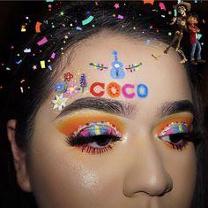Makeup Eye Looks, Eye Makeup Art, Clown Makeup, Crazy Makeup, Smokey Eye Makeup, Eyeshadow Makeup, Halloween Makeup, Crazy Eyeshadow, Creative Eye Makeup