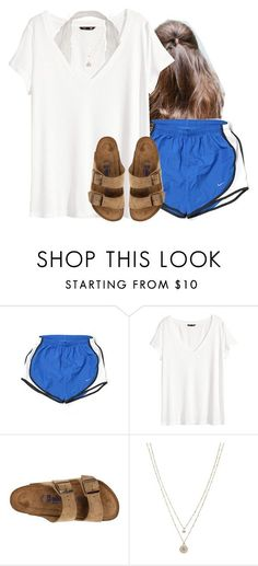 """"""""""" by aweaver-2 on Polyvore featuring NIKE, H&M, Birkenstock and LC Lauren Conrad"""