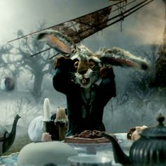March Hare Alice In Wonderland Tim Burton Alice in wonde march hare