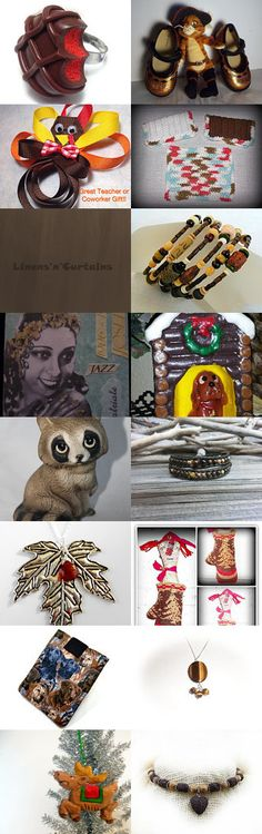 Chocolate BROWN by WitchIsWhy on Etsy--Pinned with TreasuryPin.com #novemberfinds