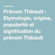 1000 id es sur le th me prenom et signification sur pinterest for Etymologie architecture
