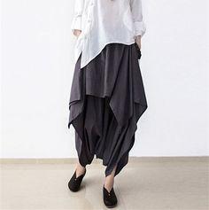 Women linen Wide leg pants – Buykud