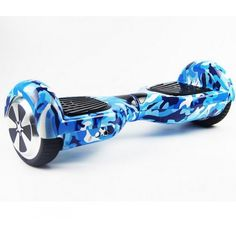 6.5 inch New Style Smart Balance Hoverboard Camouflage Blue