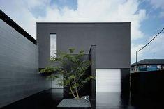 モノクロの家_日本  Kouichi Kimura Architects Stun With Black-White Contrast